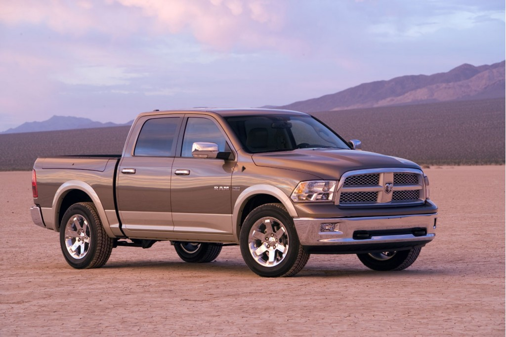 Chrysler Delivers Experimental Ram Plug-In Hybrid Pickups
