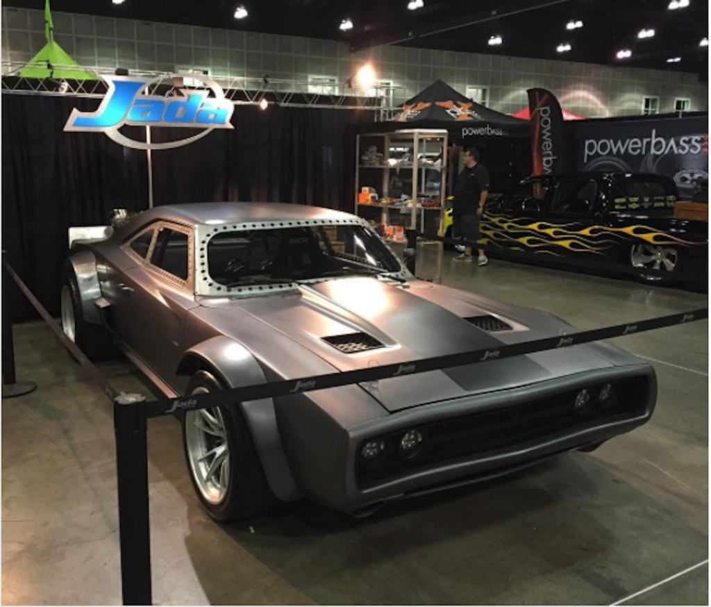 Image: Dom's Charger from Fast 8 via Jadatoys Instagram ...