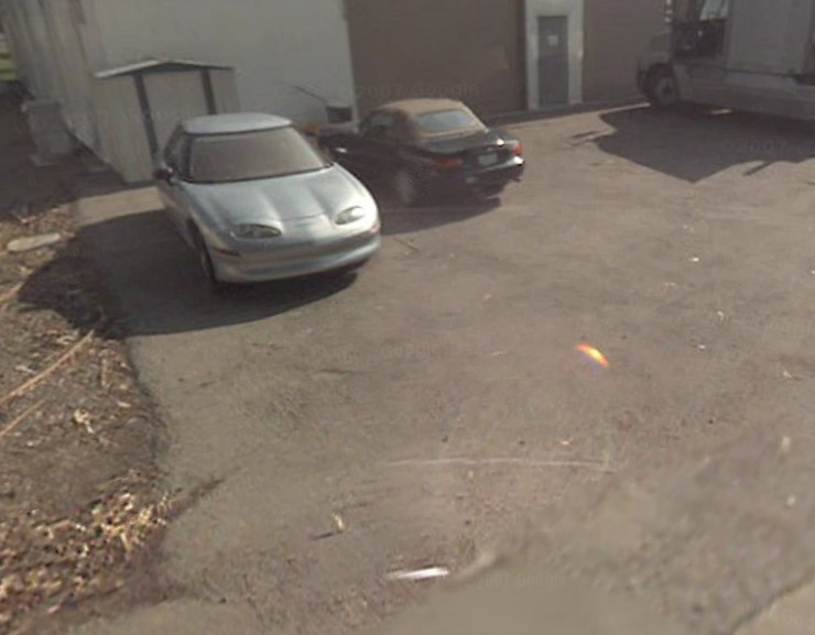 EV1 spotted on Google Earth