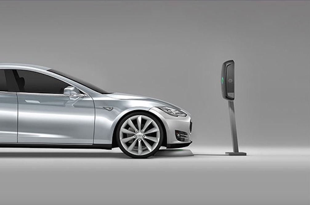 plugless charging   percent  electric cars     evatran
