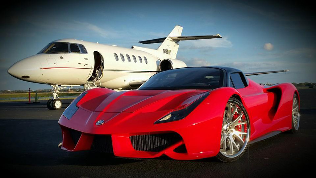 Most Expensive Jeep >> Exotic Rides does its best attempt at a LaFerrari look