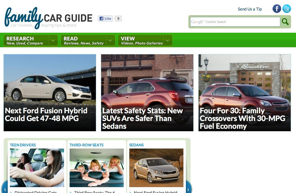 Family Car Guide 2011