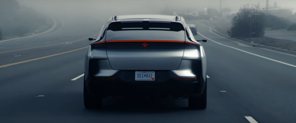 Faraday Future releases video of its FF 91 electric car 'on the road': are you excited yet?