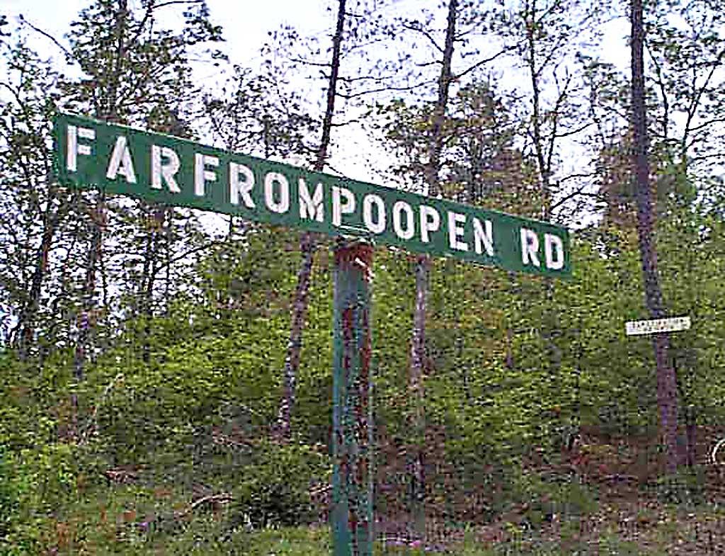 Farfrompoopin Road