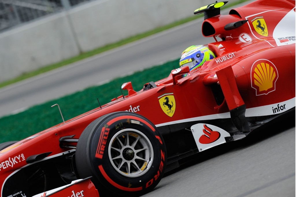 Ferrari at the 2013 Formula One British Grand Prix