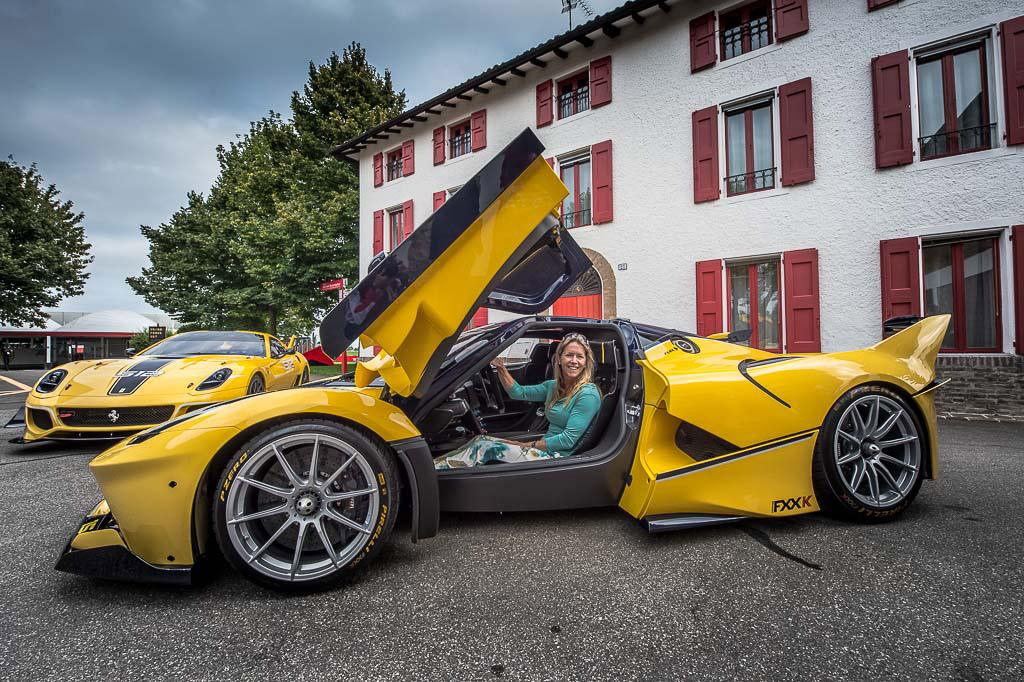 Image: Ferrari LaFerrari FXX K bought by Google executive Benjamin Sloss for wife Christine ...