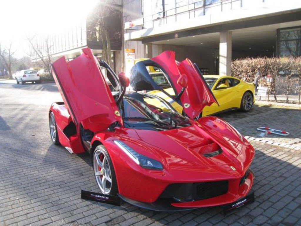 Ferrari Laferrari Already Hits The Used Car Market
