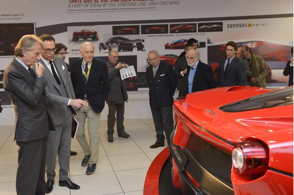 'Ferrari Supercar - Technology, Design, Myth' exhibition at the Ferrari Museum, Maranello, Italy