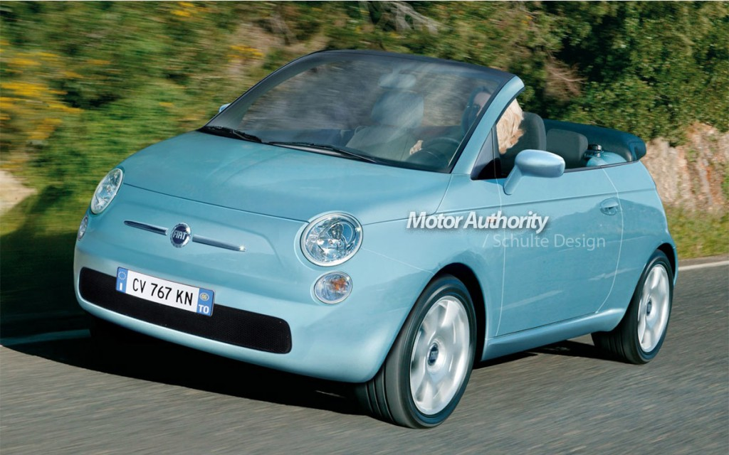 image fiat 500 cabrio render1 size 1024 x 640 type gif posted on september 17 2008 12. Black Bedroom Furniture Sets. Home Design Ideas