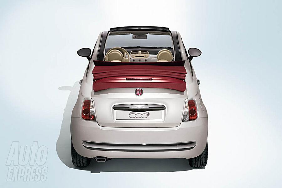 Fiat 500C via AutoExpress