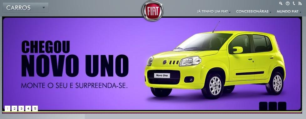 Fiat Uno from fiat.com.br