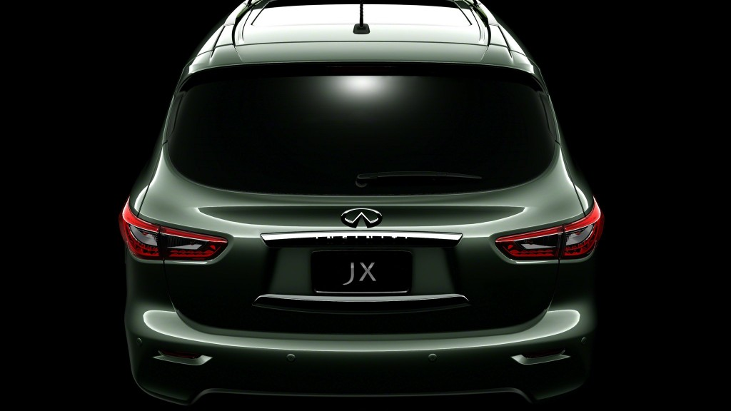 Fifth Infiniti JX Concept teaser image