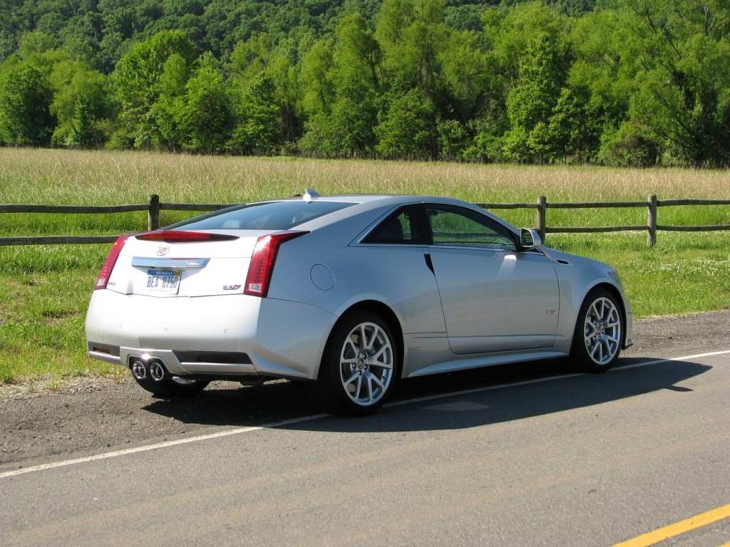 Image First Ride 2011 Cadillac Cts V Coupe Size 1024 X