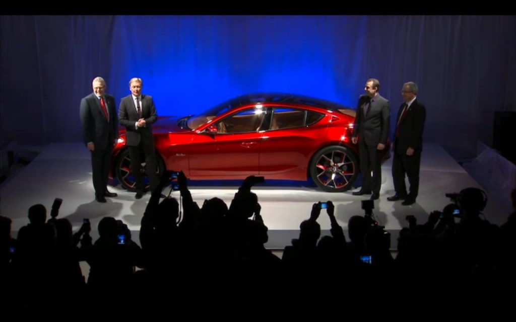 Fisker Atlantic Design Prototype  -  2012 New York Auto Show intro