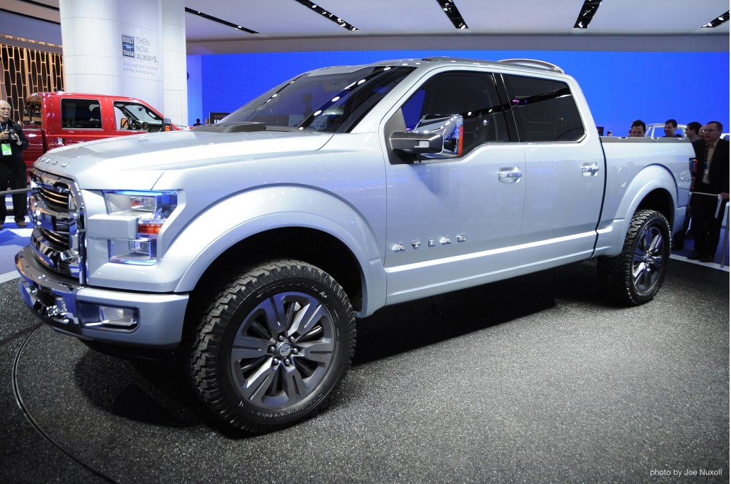 fords atlas concept previews the future of the pickup truck video