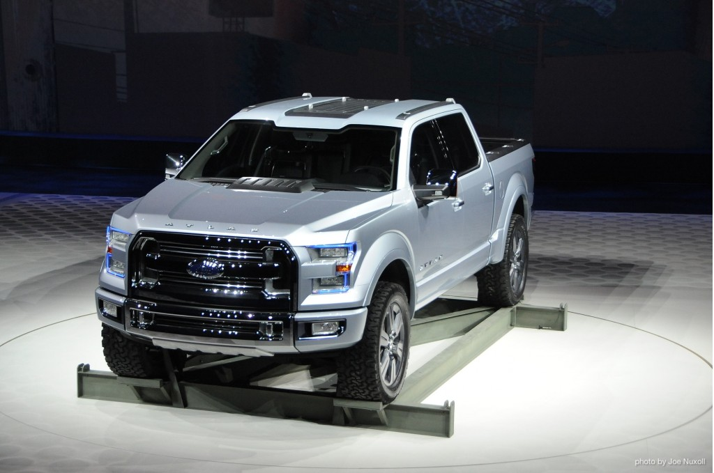 Ford Atlas Concept revealed at 2013 Detroit Auto Show