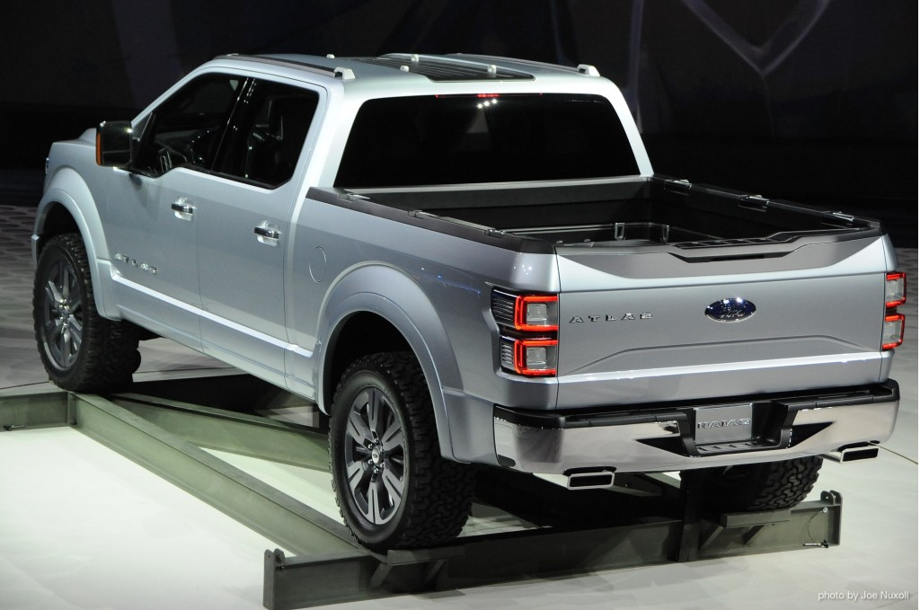 Ford Atlas Concept revealed at 2013 Detroit Auto Show