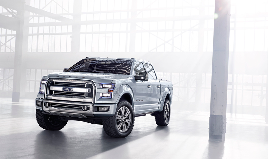 Worksheet. Ford F150 Atlas Concept A Transit Pickup Truck Stays In Step In