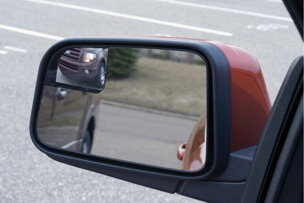 Ford blind-spot mirrors