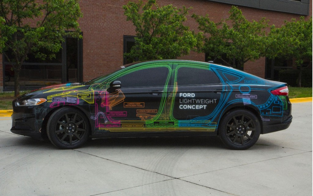 Ford Fusion Lightweight Concept