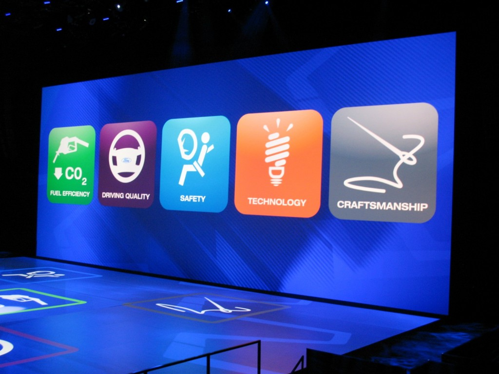 Ford goes iPhone with 2012 Ford Focus presentation