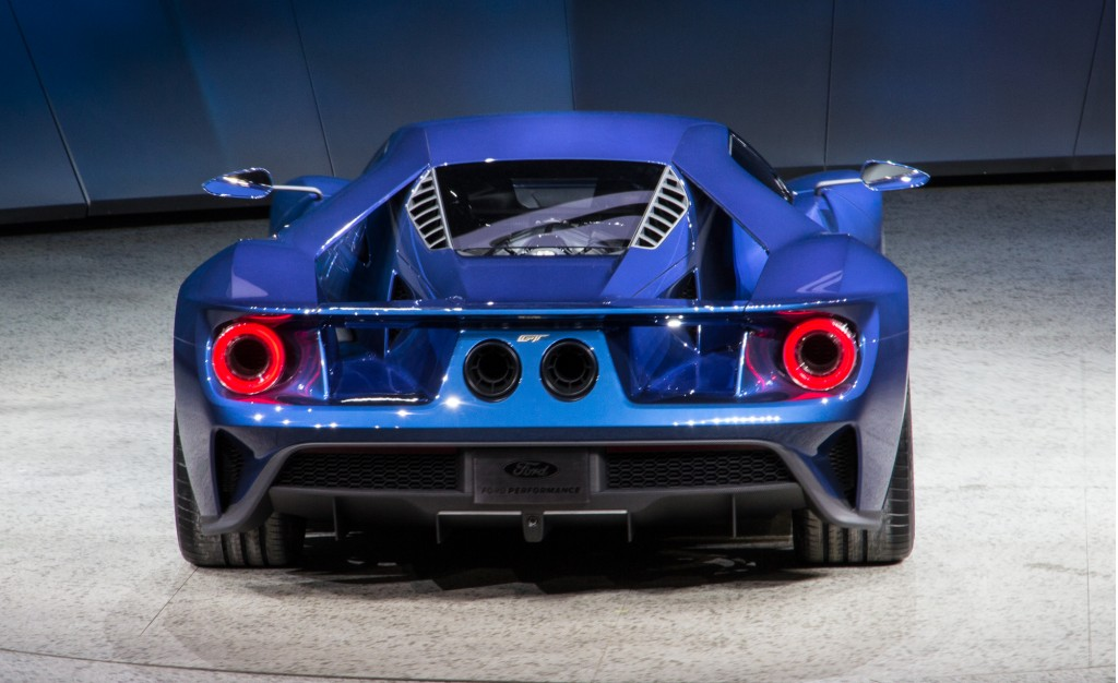 new ford gt 2015 detroit auto show - 2015 Ford Gt Auto Show