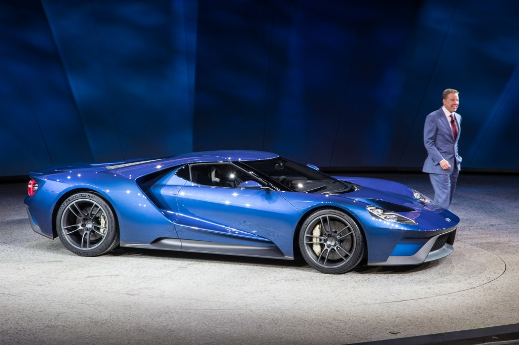 new ford gt 2015 detroit auto show