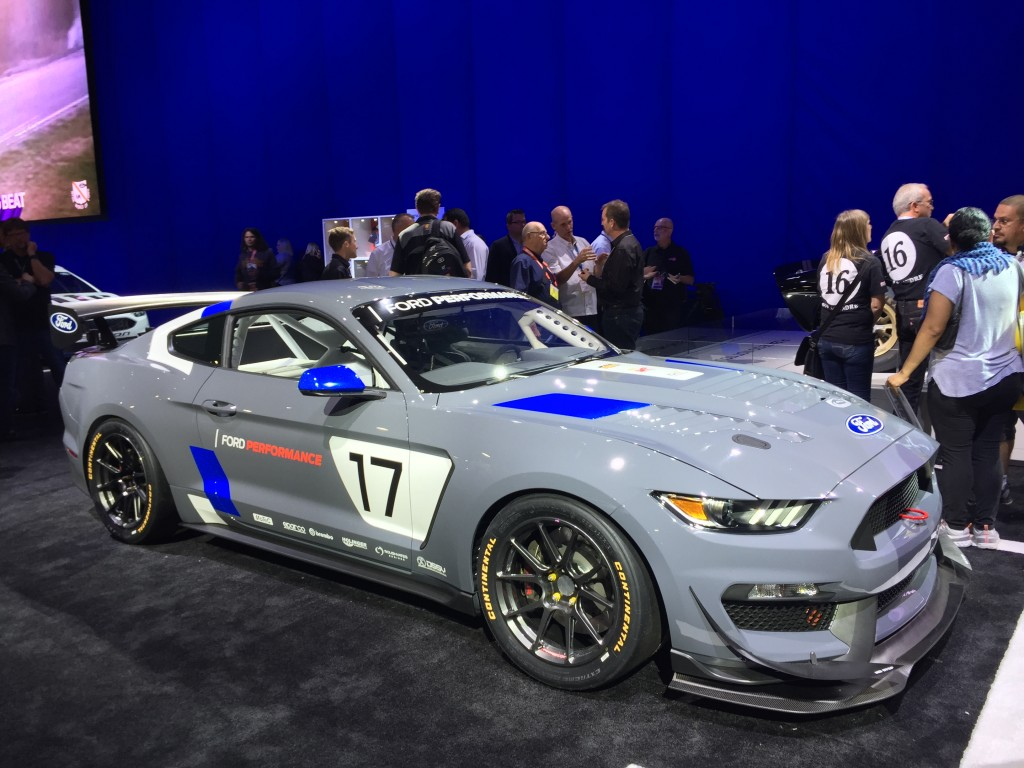 2020 Ford Mustang GT4 race car, 2020 SEMA show
