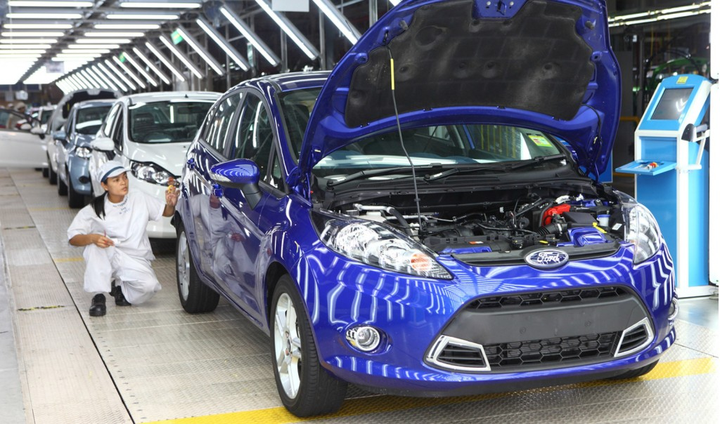 Ford plant in Thailand