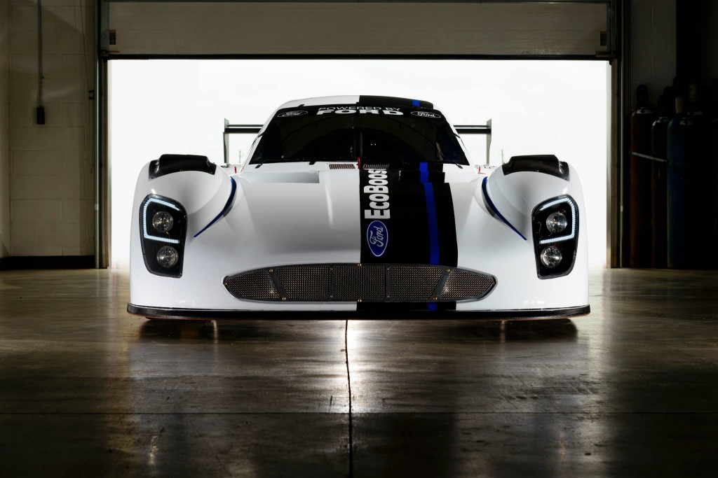 Ford Racing debuts new EcoBoost V-6 race engine for Daytona Prototype