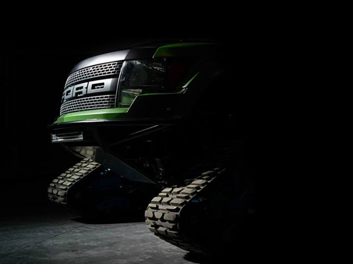 ford raptor trax ken block