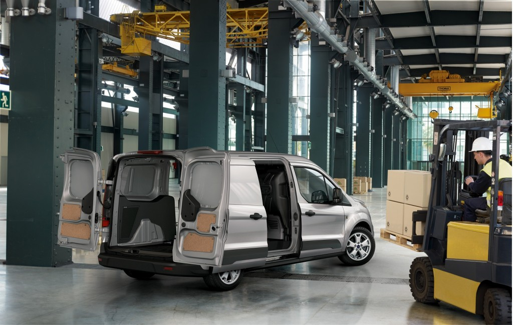 2014 Ford Transit Connect small commercial van (European model)