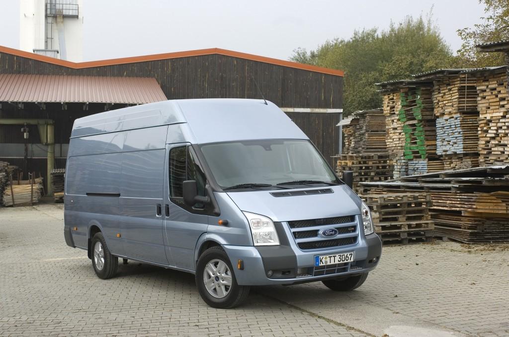 Ford Transit Van, high-roof European model