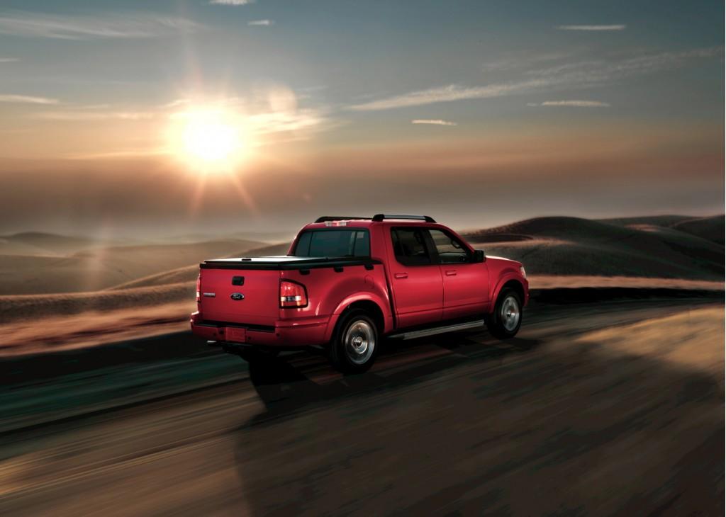 2011 Ford Explorer Won't Get Award-Winning Sport Trac Version
