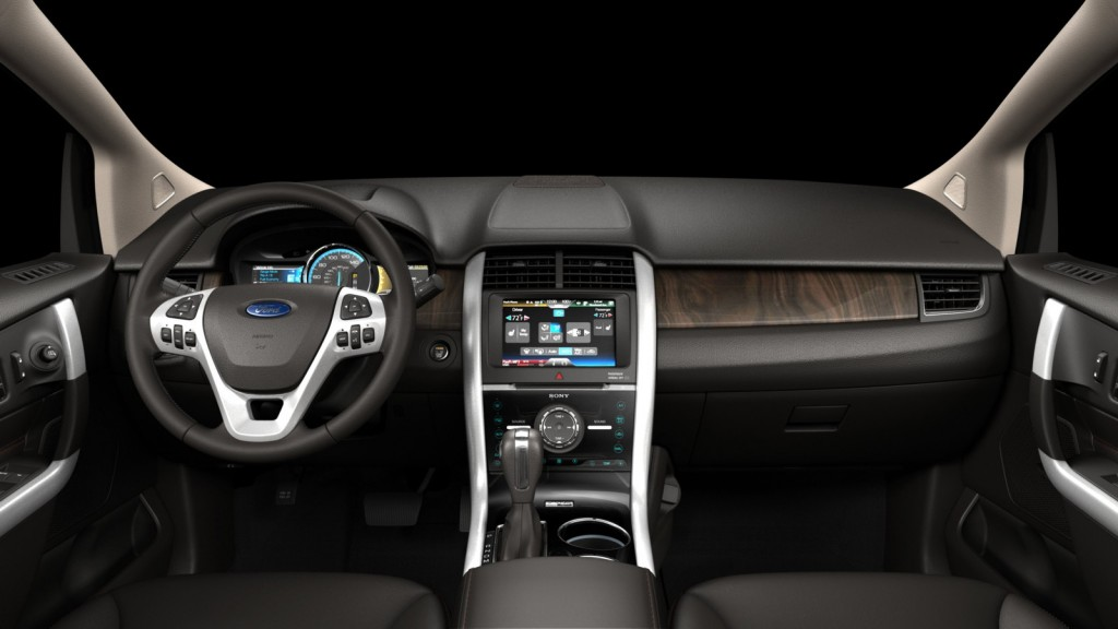 MyFord Touch - 2011 Ford Edge
