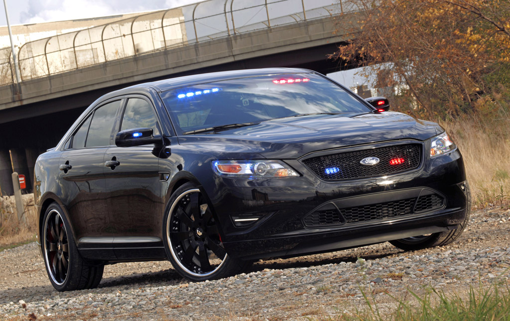 2010 Sema Preview Stealth Ford Taurus Police Interceptor