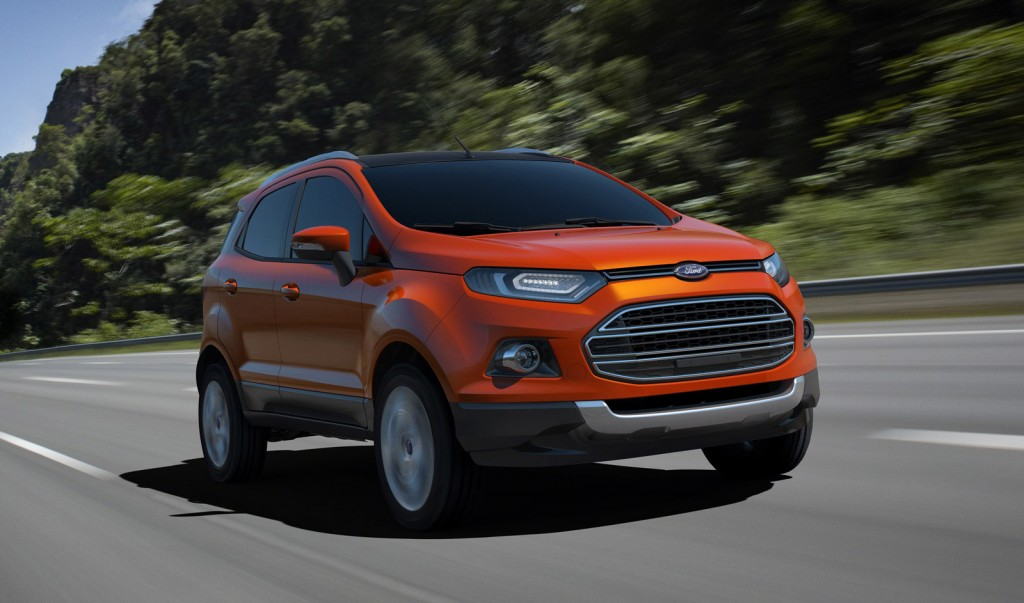 2013 Ford EcoSport unveiled at Delhi Auto Expo, Jan 2012