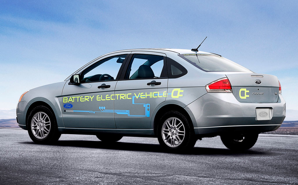 Ford's Focus-based Battery Electric Vehicle