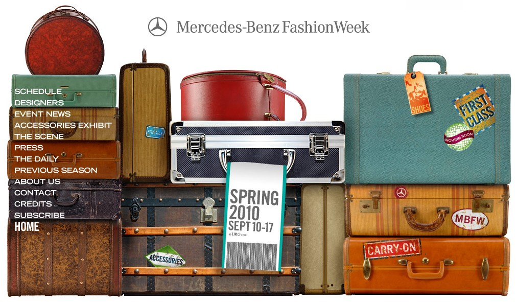 From the Mercedes-Benz Fashion Week website