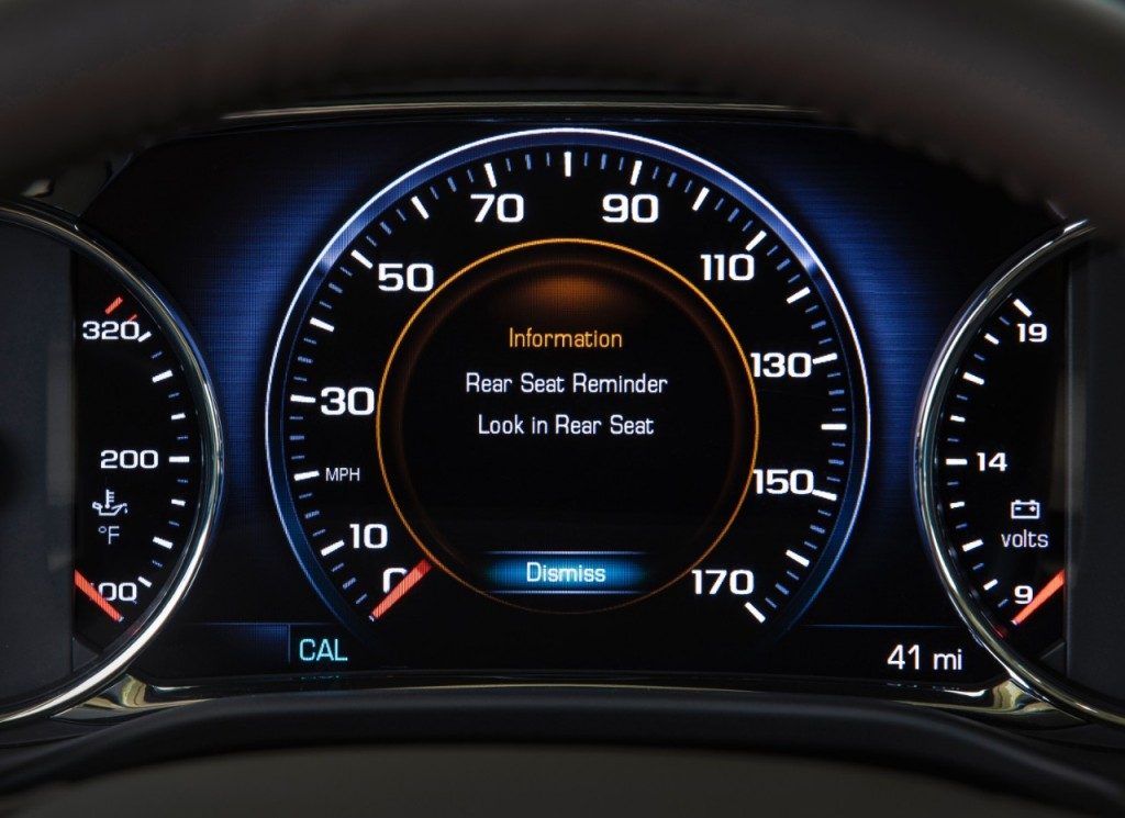 GM offers 'Rear Seat Reminder' on a growing number of vehicles