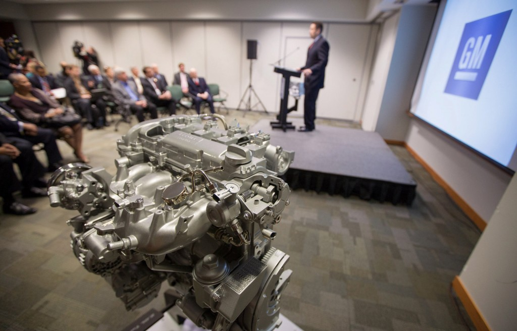 GM powertrain division consolidation
