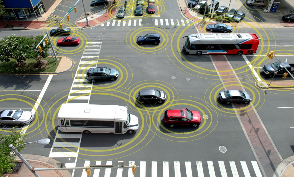 GM working on car-to-car and car-to-object communications technology