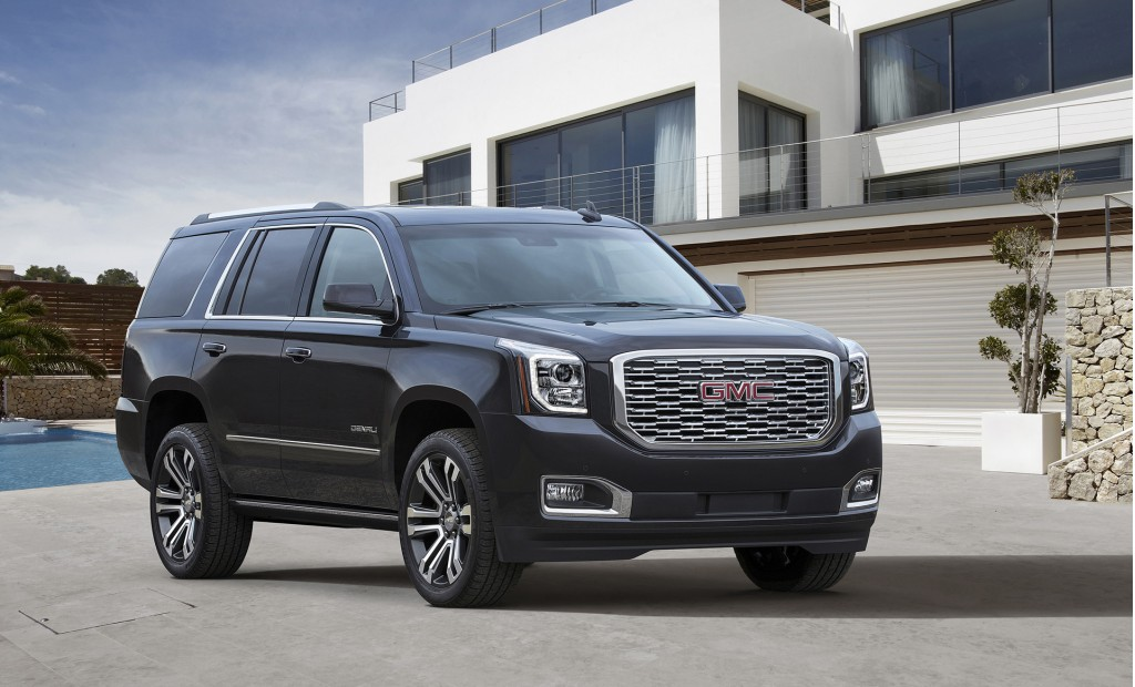 2018 GMC Yukon Denali updated with new look, 10-speed automatic