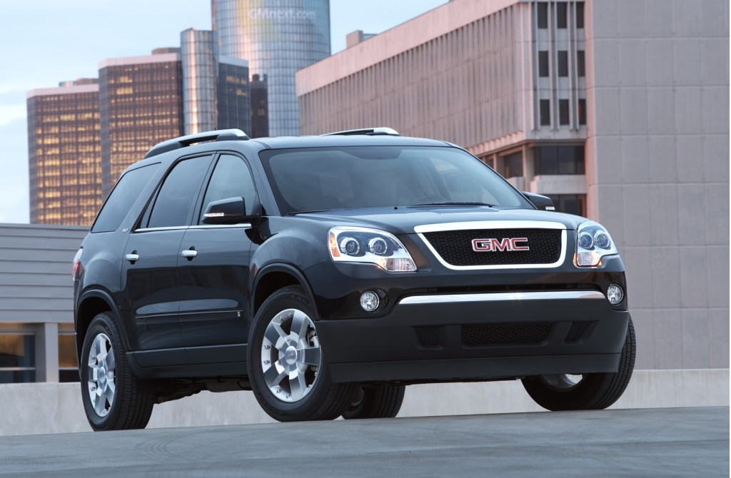 Preview: 2010 GMC Acadia Denali