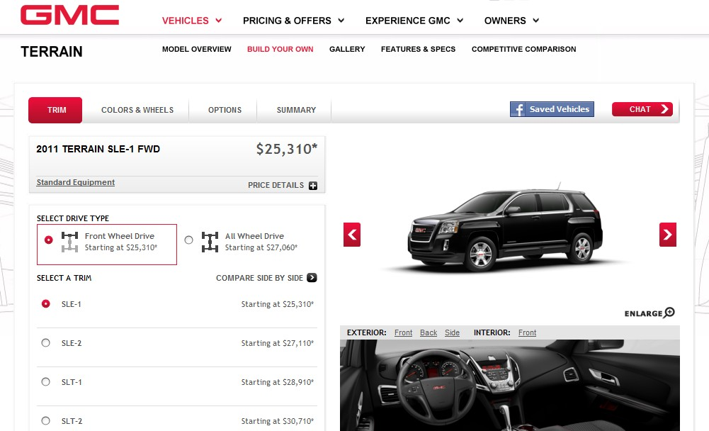 Buick, GMC Now Let You Share Your Dream Ride On Facebook