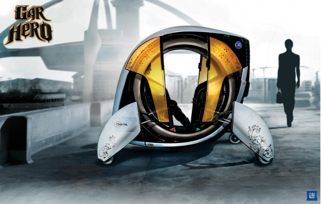 GM's 'Car Hero' concept for the 'YouthMobile 2030' contest