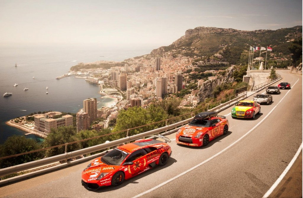 Gumball 3000 supercar rally
