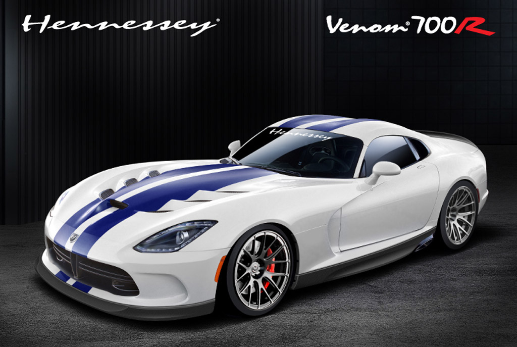 Hennessey's Venom 1000 upgrade for the SRT Viper delivers massive 1,120 horsepower