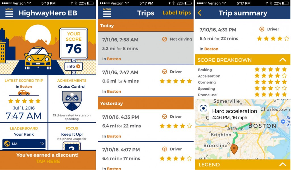 Liberty Mutual's new apps turn safe driving into a competitive sport