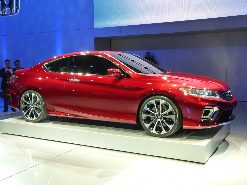 2013 Honda Accord Coupe Concept: Video Walkaround